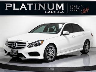 Used 2016 Mercedes-Benz E-Class E300 4MATIC AWD, 3.5L V6, 302HP, AVANTGARDE PKG for sale in Toronto, ON