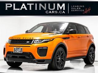 Used 2016 Land Rover Range Rover Evoque HSE Dynamic, NAVI, PANO, HUD, MASSAGE, Blindspot Range Rover Evoque for sale in Toronto, ON
