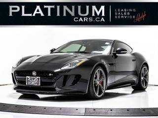 Used 2016 Jaguar F-TYPE R AWD | NAVI, PADDLE SHIFTERS, CAMERA, MERIDIAN, F-TYPE R for sale in Toronto, ON