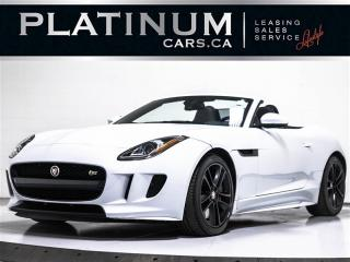 Used 2016 Jaguar F-Type S, AWD, 380 HP, CONVERTIBLE, NAV, CAM for sale in Toronto, ON