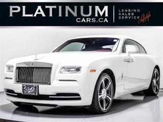 Used 2015 Rolls Royce Wraith 6.6L V12, 633HP, STARLIGHT ROOF, NAV, HEADS UP for sale in Toronto, ON