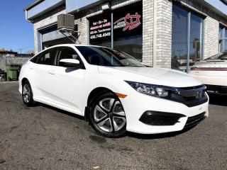 Used 2018 Honda Civic LX CVT 4DR CAMERAS DE RECULE SIEGES CHAU for sale in Longueuil, QC