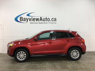 Used 2014 Mitsubishi RVR ES - 5SPD! BLUETOOTH! CRUISE! ALLOYS! for sale in Belleville, ON