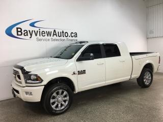 Used 2018 RAM 3500 Laramie - 4X4! HTD LEATHER! NAV! SUNROOF! for sale in Belleville, ON