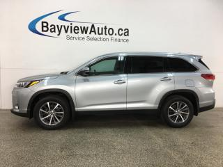 Used 2019 Toyota Highlander XLE - 8 PASS! AWD! NAV! HTD LEATHER! SUNROOF! PWR LIFTGATE! for sale in Belleville, ON