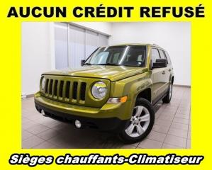 Used 2012 Jeep Patriot NORTH 4X4 CLIMATISEUR *SIÈGES CHAUFFANTS* for sale in St-Jérôme, QC
