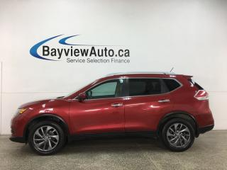 Used 2016 Nissan Rogue SL Premium - AWD! HTD LEATHER! NAV! PANOROOF! FULL PWR GROUP! for sale in Belleville, ON
