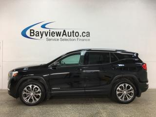 Used 2018 GMC Terrain SLT - AWD! PANOROOF! HTD LTHR! APPLE CARPLAY! ANDROID AUTO! + MORE! for sale in Belleville, ON