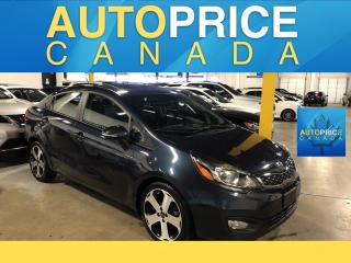 Used 2015 Kia Rio SX MOONROOF|LEATHER|HEATED SEATS for sale in Mississauga, ON