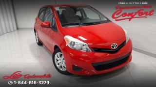 Used 2014 Toyota Yaris Hayon 3 portes, boîte automatique, LE for sale in Chicoutimi, QC