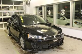 Used 2016 Mitsubishi Lancer ES MANUELLE MAIN LIBRE AIR CLIMATISÉ for sale in Lévis, QC