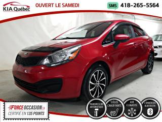 Used 2015 Kia Rio LX+* AT* SIEGES CHAUFFANTS* A/C* MAGS* for sale in Québec, QC