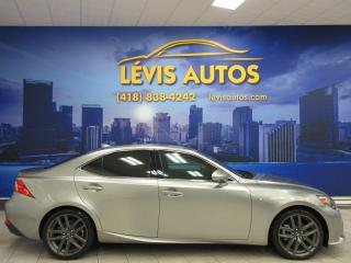Used 2014 Lexus IS 250 F-SPORT AWD CUIR MAGS 18 POUCES 99700 KM for sale in Lévis, QC