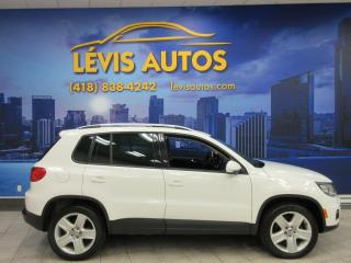 Used 2013 Volkswagen Tiguan COMFORTLINE 4MOTION TOIT PANO CUIR AUTOM for sale in Lévis, QC