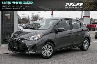 Used 2016 Toyota Yaris 5 Dr LE Htbk 5M for sale in Orangeville, ON