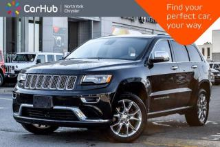 Used 2015 Jeep Grand Cherokee Summit Customr Preferd Package HK Sound Panoramic Sunroof Adapt Cruise for sale in Thornhill, ON