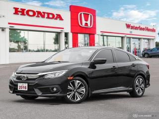Used 2016 Honda Civic EX-T Owned by one of our Service Advisors! Very rare co for sale in Waterloo, ON