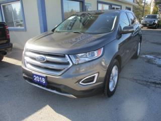 Used 2018 Ford Edge ALL-WHEEL DRIVE SEL EDITION 5 PASSENGER 3.5L - V6.. HEATED SEATS.. BLUETOOTH SYSTEM.. KEYLESS ENTRY & START.. BACK-UP CAMERA.. for sale in Bradford, ON