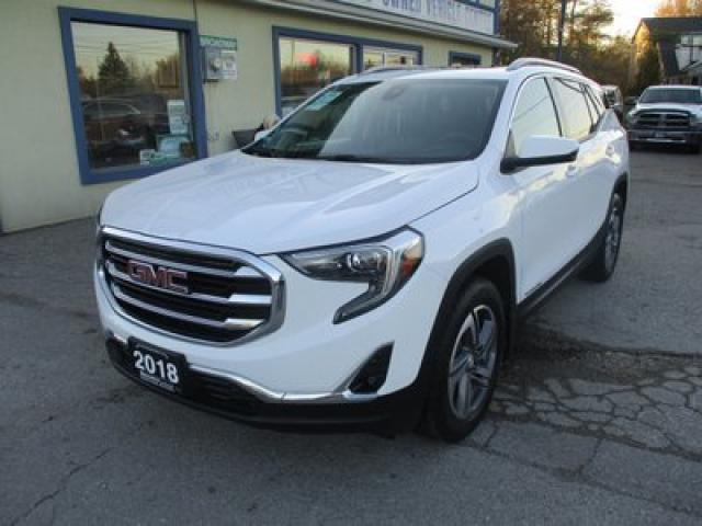 2018 GMC Terrain LOADED SLT EDITION 5 PASSENGER 1.6L - DIESEL.. NAVIGATION.. LEATHER.. HEATED SEATS.. BOSE AUDIO.. PANORAMIC SUNROOF.. BACK-UP CAMERA..