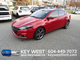 Used 2014 Dodge Dart GT Sunroof Leather Nav Cam Heated Seats for sale in New Westminster, BC