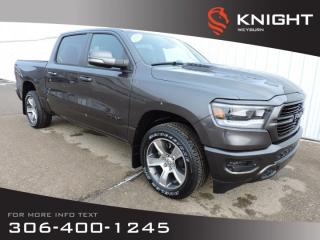 New 2020 RAM 1500 Sport Crew Cab 4X4 HEMI | Leather Seats | Panoramic Sunroof | Heated Seats | Remote Start for sale in Weyburn, SK