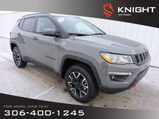 New 2020 Jeep Compass Trailhawk 4x4 | Leather Heated Seats | NAV | Panoramic Sunroof | Remote Start | Back-up Camera for sale in Weyburn, SK