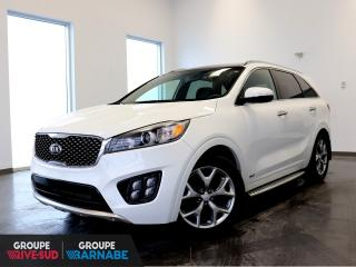 Used 2017 Kia Sorento SX V6 7 PASSAGERS AWD+CUIR+GPS+TOIT-PANO for sale in St-Jean-Sur-Richelieu, QC