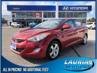 Used 2012 Hyundai Elantra GLS Auto - Sunroof / Bluetooth for sale in Port Hope, ON