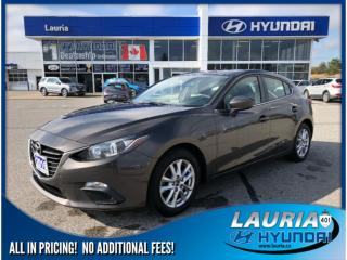 Used 2016 Mazda MAZDA3 GS - Includes Snow Tires! for sale in Port Hope, ON