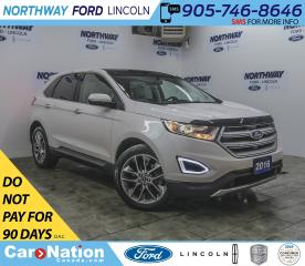 Used 2016 Ford Edge Titanium | AWD | NAV | LEATHER | PANOROOF |  | for sale in Brantford, ON
