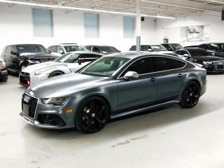 Used 2017 Audi RS 7 NIGHT VISION SYSTEM/HEADS-UP DISPLAY/DRIVER ASSISTANCE PKG! for sale in Toronto, ON