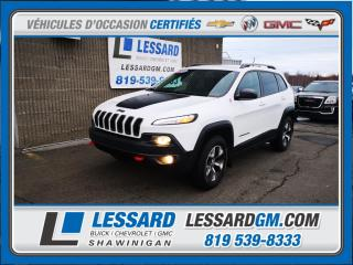 Used 2016 Jeep Cherokee TRAILHAWK, VOLANT ET SIEGES CHAUFFANTS, BLUETOOTH, for sale in Shawinigan, QC