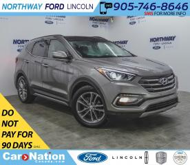Used 2018 Hyundai Santa Fe Sport Turbo Limited | AWD | NAV | LEATHER | PANOROOF | for sale in Brantford, ON