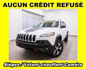 Used 2016 Jeep Cherokee TRAILHAWK 4X4 SIÈGES / VOLANT CHAUFFANT *BAS KM* for sale in Mirabel, QC