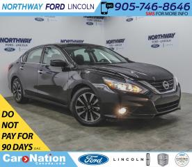 Used 2018 Nissan Altima SV | PWR HTD SEATS | BACKUP CAM | SUNROOF | for sale in Brantford, ON