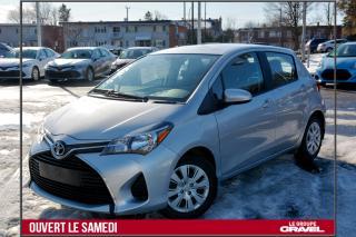 Used 2015 Toyota Yaris LE - TOUT ÉQUIPÉ - BLUETOOTH - 8 PNEUS for sale in St-Léonard, QC