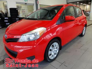 Used 2012 Toyota Yaris Hayon 5 portes, Automatique A/C LE for sale in St-Jean-Sur-Richelieu, QC