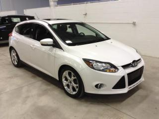 Used 2014 Ford Focus TITANIUM CUIR TOIT for sale in Longueuil, QC