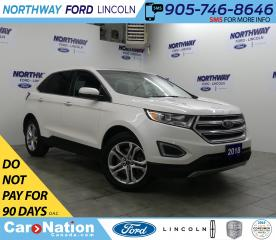 Used 2018 Ford Edge Titanium | AWD | LEATHER  | REAR CAMERA for sale in Brantford, ON