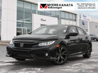 Used 2017 Honda Civic Hatchback Sport - Honda Sensing for sale in Kanata, ON
