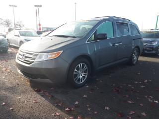 Used 2013 Honda Odyssey EX-L w/RES 8 Passagers Cuir, DVD, Hitch for sale in Boucherville, QC