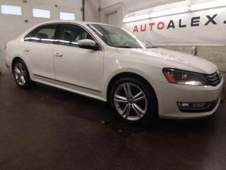Used 2013 Volkswagen Passat TDI Highline NAVI CAMERA CUIR / SUEDE MAGS 18 for sale in St-Eustache, QC