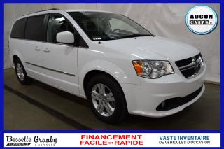 Used 2017 Dodge Grand Caravan Crew +Aucun Carfax+ for sale in Cowansville, QC