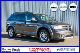 Used 2016 Dodge Journey SXT-Dvd-Navigation-7 Passagers for sale in Cowansville, QC
