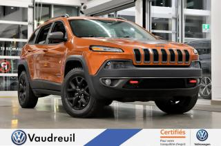 Used 2016 Jeep Cherokee Trailhawk * TOIT PANO *** Réservé *** for sale in Vaudreuil-Dorion, QC