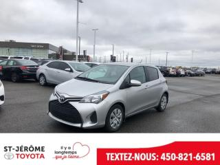 Used 2016 Toyota Yaris * LE * AUTOMATIQUE * AIR * 65 000 KM for sale in Mirabel, QC