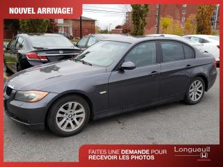Used 2007 BMW 3 Series 328xi, traction intégrale for sale in Longueuil, QC
