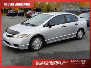Used 2010 Honda Civic DX-G ***un seul propriétaire*** for sale in Longueuil, QC