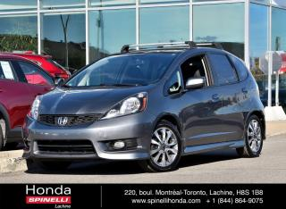 Used 2013 Honda Fit Sport MANUELLE MAGS MANUELLE MAGS CRUISE BLUETOOTH for sale in Lachine, QC