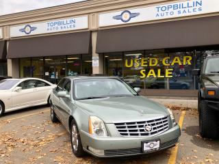 Used 2007 Cadillac DTS Sunroof, Heated/Cooled Seats for sale in Vaughan, ON